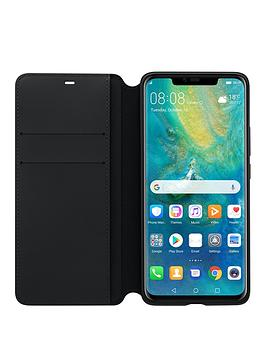 Huawei Huawei Mate 20 Pro Wallet Cover Black Picture