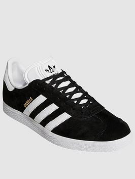 adidas Originals Adidas Originals Gazelle - Black/White Picture