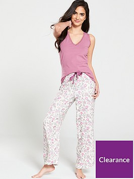 v-by-very-woven-pant-and-vest-top-pj-set-floral