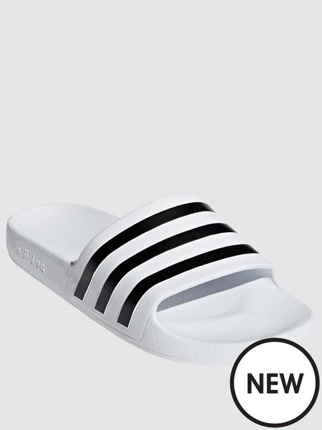 adidas-adilette-aqua-whiteblack