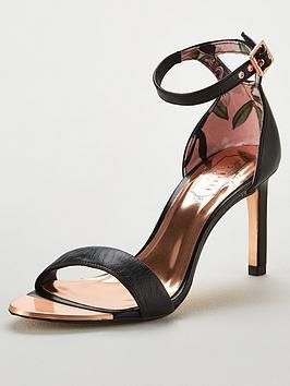 446bb6de3 Ted Baker Ulanii Heeled Sandals - Black