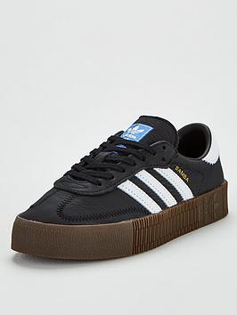adidas Originals Adidas Originals Sambarose - Black Picture