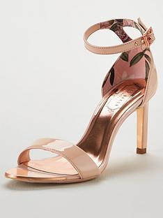 de5fa783a Ted Baker Ulanii Heeled Sandals - Nude