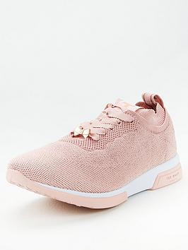 ted-baker-lyara-trainers-pink