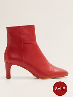 mango-leather-ankle-boots-red