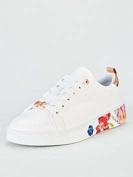ted-baker-roully-trainers-white