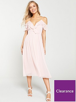 v-by-very-cold-shoulder-woven-midi-dress-blush
