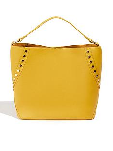 oasis-sammy-stud-hobo-bag-ochre