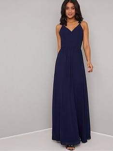 chi-chi-london-katrinenbspruffle-detail-maxi-dress-navy