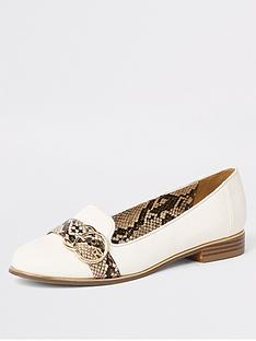 river-island-river-island-snake-print-contrast-loafer-white