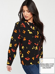 warehouse-sunset-floral-top-multi
