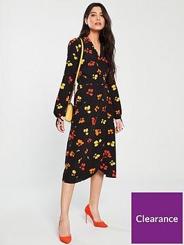 warehouse-sunset-floral-wrap-midi-dress-multi