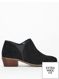 evans-extra-wide-fit-low-cut-ankle-boot-black