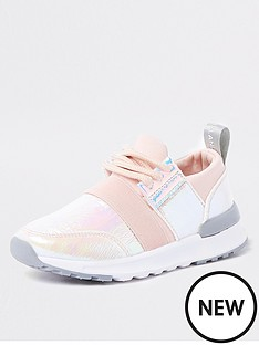 river-island-mini-mini-girls-pink-holographic-runner-trainers