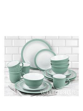 WATERSIDE Waterside Camden 16-Piece Dinner Set &Ndash; Green Picture