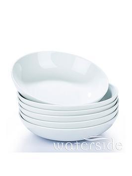 waterside-set-of-6nbspwhite-pasta-bowls