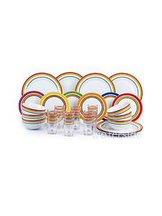 waterside-rainbow-stripe-24-piece-dinner-set