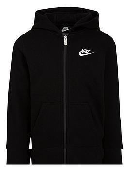 Nike Nike Younger Child Club Full Zip Hoodie - Black Picture