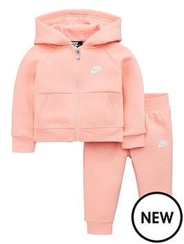 nike-infants-fleece-fz-tracksuit-pink