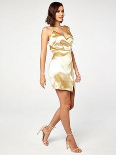the-girl-code-asymmetrical-satinnbspmini-dress-yellow
