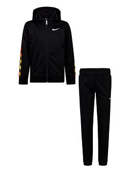 Nike Nike Childrens Gradient Taping Therma Tracksuit - Black Picture