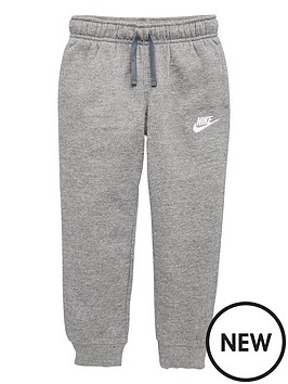 nike-club-fleece-rib-cuff-joggers-grey