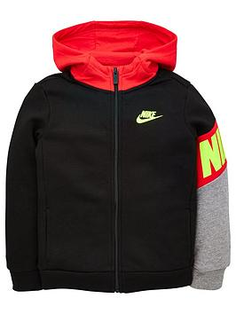 nike-nike-childrens-core-hbr-zip-front-hoodie-black