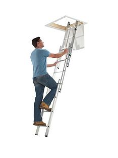 abru-section-aluminum-loft-ladder