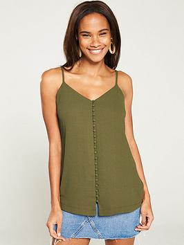 v-by-very-longline-button-front-caminbsp--khaki