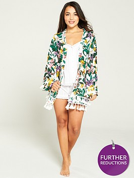 v-by-very-printed-pom-pom-kimono-tropical
