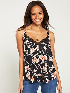 v-by-very-printed-lace-trim-swing-caminbsp--floral