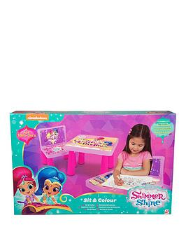 shimmer-and-shine-colouring-table