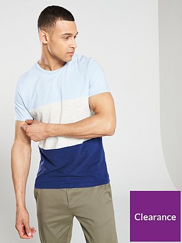 selected-homme-kiyoshi-open-neck-t-shirt-blue