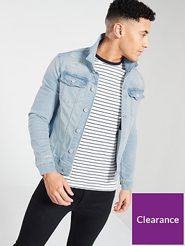 river-island-muscle-fit-rip-repair-denim-jacket
