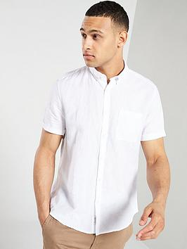 river-island-short-sleeve-linen-shirt