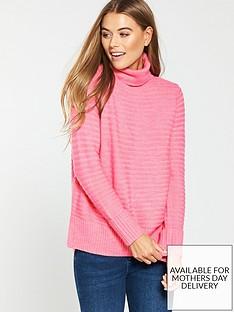 wallis-stitchy-ottoman-macaroni-jumper-pink