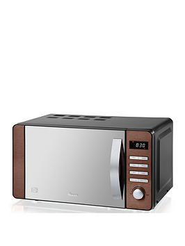 Swan   20L Digital Microwave - Copper