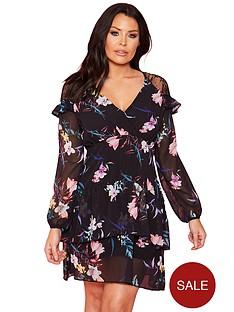 sistaglam-loves-jessica-v-neck-chiffon-long-sleeve-frill-mini-dress-floral-print