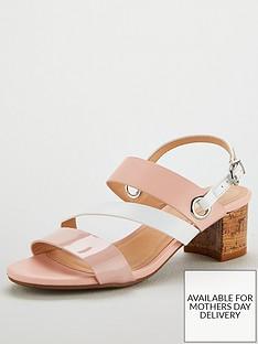 wallis-multi-strap-block-heel-sandal