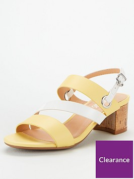 wallis-swing-cork-block-heeled-sandals-yellow