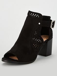 wallis-aileen-laser-cut-out-heeled-ankle-boots-black