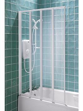 Aqualux 4 Fold Shower Screen