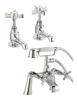 bristan-traditional-bathroom-basin-taps-and-bath-shower-mixer-chrome