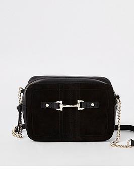 river-island-river-island-leather-snaffle-detail-cross-body-bag-black