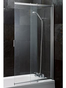 Aqualux Aqualux Sliding Bath / Shower Screen Picture