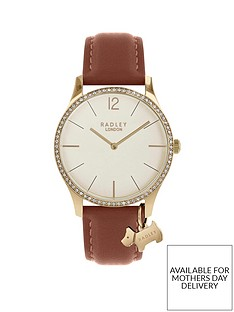 radley-radley-cream-crystal-set-and-gold-detail-dial-brown-leather-strap-ladies-watch