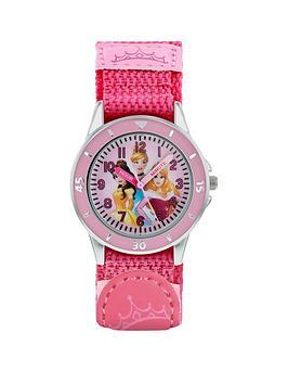 disney-princess-disney-princess-dial-pink-velcro-strap-kids-watch