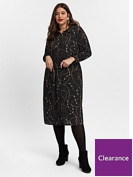 evans-chain-shirt-dress-black