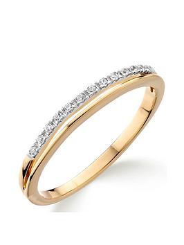 Love DIAMOND Love Diamond 9Ct Gold Diamond Set Wedding Band Picture