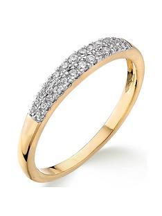 love-diamond-9ct-gold-15-point-diamond-two-row-wedding-band